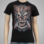 In Fear And Faith Shield Black T-Shirt