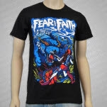 In Fear And Faith Sea Tiger Black T-Shirt