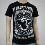 official In Hearts Wake Third Eye Black T-Shirt