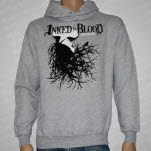 Inked In Blood Comatose Gray Pullover