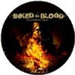Inked In Blood Cover Pin