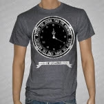 In League Clock Dark Heather T-Shirt