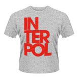 Interpol Stacked Logo T-Shirt