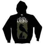 In The Midst Of Lions Crow Black Pullover
