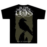 In The Midst Of Lions Crow Black T-Shirt
