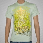 In The Midst Of Lions Roots Green T-Shirt