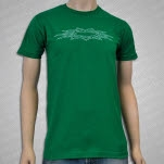 Into Another Simple Star Green T-Shirt