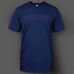 Into Another Simple Star Navy T-Shirt