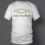 Into Another Star Logo And Text White T-Shirt