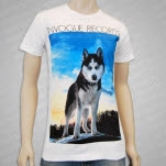 inVogue Records Husky White T-Shirt