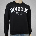 inVogue Records Logo Black Crewneck Sweatshirt