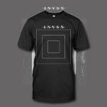 INVSN Square Black T-Shirt