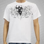 Iron Age Cheat Death White T-Shirt
