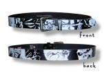 Iron Maiden Eddie Ao Leather Belt