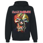 Iron Maiden Final Frontier Big Head Hoodie