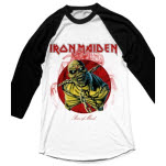 Iron Maiden Piece of Mind Raglan T-Shirt