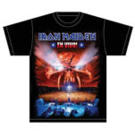 Iron Maiden En Vivo Cover T-Shirt