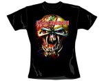 Iron Maiden Finalfront Bighead Sk Girls T-Shirt