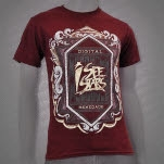 I See Stars Digital Renegade Maroon T-Shirt