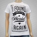 I See Stars Hope White T-Shirt