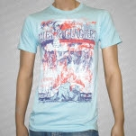 Isles  Glaciers The Hearts of Lonely People Light Blue T-Shirt