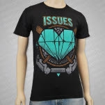 Issues Hammers Black T-Shirt