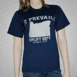 It Prevails Uplift Blue T-Shirt