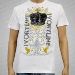 Ivoryline Crown White T-Shirt