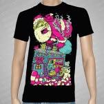 Ivoryline Santa Black T-Shirt