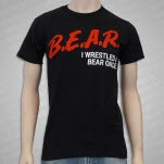 Iwrestledabearonce BEAR Dare Black T-Shirt