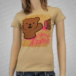 Iwrestledabearonce Teddy Bear Girls T-Shirt