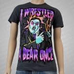 Iwrestledabearonce iwrestledaPALLBEARERonce Asphalt T-Shirt