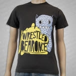 Iwrestledabearonce Toothy Gray T-Shirt