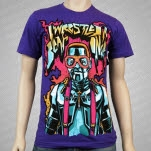 Iwrestledabearonce Urkelbot Purple T-Shirt