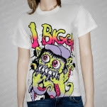 J Bigga Octo White T-Shirt