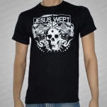 Jesus Wept Shows Over Black T-Shirt