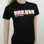 Jets To Brazil Kitty Black T-Shirt