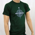 Jets To Brazil Globe Logo Forest Green T-Shirt