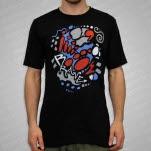 official JiggzArt Brave Black T-Shirt