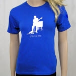 Joan of Arc The Gap Blue T-Shirt