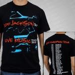 Joe Jackson Live Music Black T-Shirt