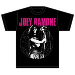 Joey Ramone Mic Seal T-Shirt