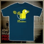 Jon McLaughlin Bird Lapis Blue T-Shirt