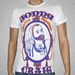Jonny Craig Zig Zag White T-Shirt