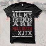 JT Woodruff Sellouts Black T-Shirt