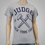 Judge Hammers Heather Grey T-Shirt