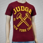 official Judge Hammers Maroon T-Shirt