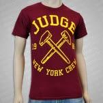 Judge Hammers Maroon T-Shirt