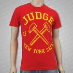 Judge Hammers Red T-Shirt