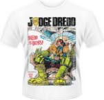 Judge Dredd Dredd Is Boss Distressed T-Shirt